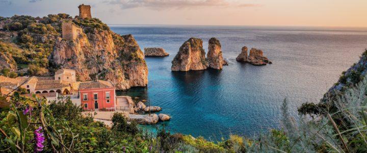Al descubrimiento de Sicilia en Italia